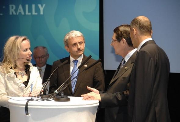 Никос Анастасиадис на саммите EPP в Варшаве